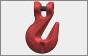 G80 CLEVIS WING HOOK WITH SAFETY PIN